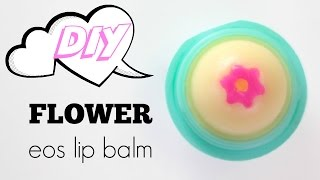 DIY Flower EOS Lip Balm