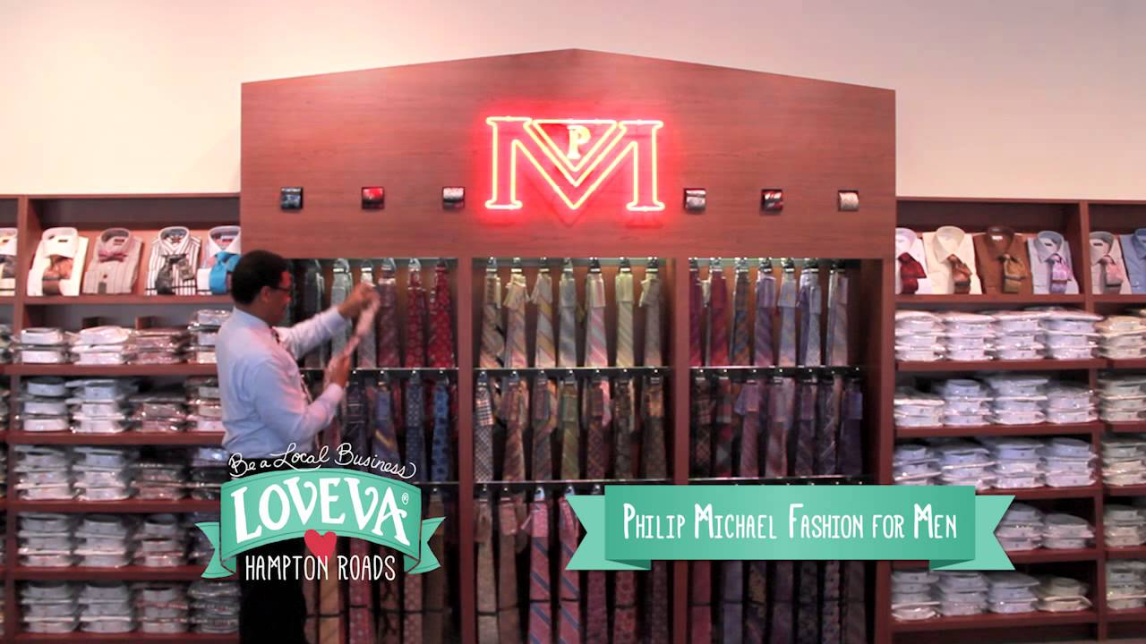 2017 Loveva Philip Michael Fashion For Men Commercial