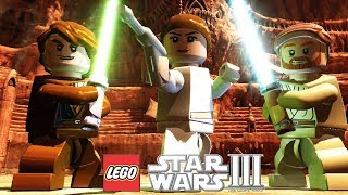 LEGO Star Wars III The Clone Wars - Prologue: Geonosian Arena (Xbox One X)