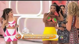 Cantora mostra partes íntimas no programa 'Eliana'