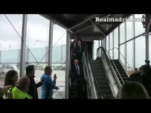 BEHIND THE SCENES: Real Madrid's arrival in Munich