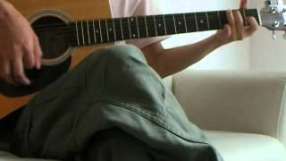 翼をください_赤い鳥 ギター弾き語り カバー(cover)- 人間は鳥みたいに...