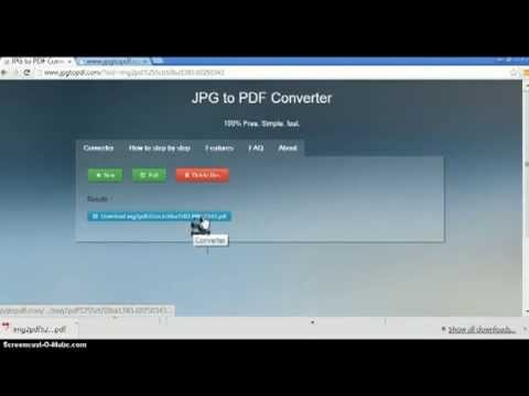 how to convert jpg to pdf - YouTube