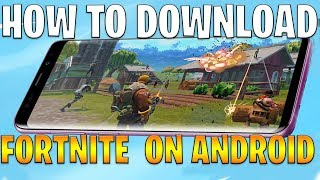 How To Download Fortnite on Android **OFFICIAL** Beta Version