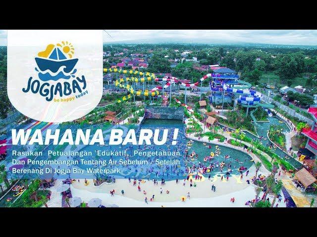 Jogja Bay Pirates Adventure Waterpark, Yogyakarta - Indonesia (Aerial Video)