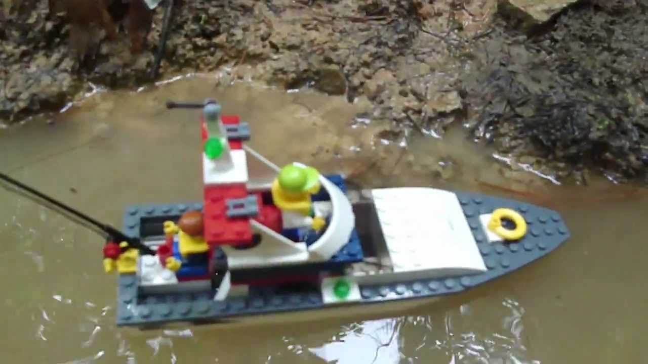 Lego City Fishing Boat Review Set 4642 Youtube