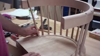 Curved Back Bar Stool - Part 1 of 2