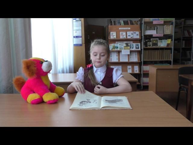 Изображение предпросмотра прочтения – АлександраКольскова читает произведение «Что ни страница, — то слон, то львица» В.В.Маяковского
