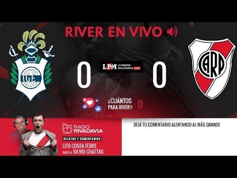 Gimnasia vs. River - Superliga - EN VIVO - Relatos Lito Costa Febre