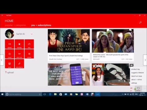 the best ad free youtube app for windows 10!
