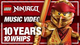 LEGO Ninjago 10 Years, 10 Whips! Fan-Made Legacy Whip Tribute