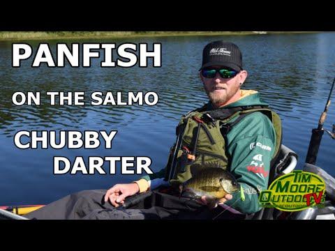 Panfish On The Salmo Chubby Darter