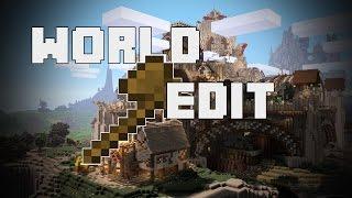 WORLD EDIT   Minecraft Tutorial   Basics   German
