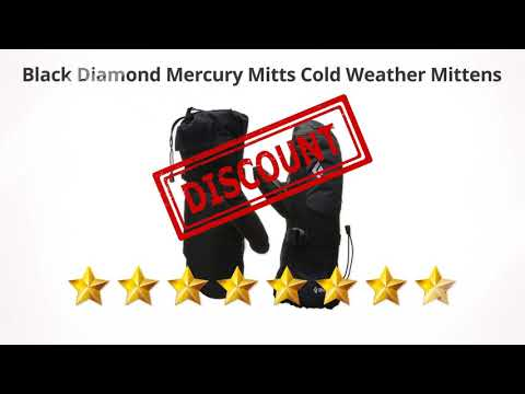 Black Diamond Mercury Mitts Cold Weather Mittens  | Review And Discount