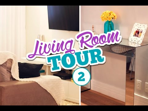 Living Room Tour #2 | Novidades Na Sala Ampliada | Bruna Dalcin   YouTube Part 74
