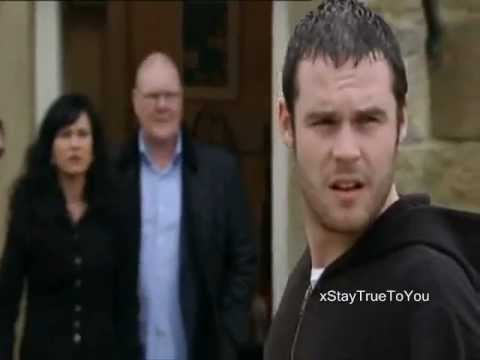 Emmerdale - Aaron tells Chas and Paddy he's leaving for France - 5/4/2012