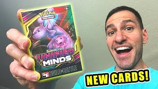*UNIFIED MINDS NEW POKEMON CARDS BOX!* Opening PRERELEASE BOX With ULTRA RARE Cards Pulled!