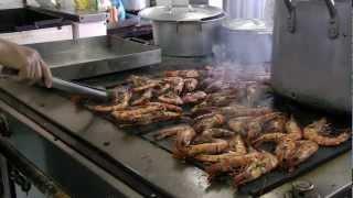 Вьетнам. Кухня на морской платформе / Vietnamese offshore kitchen