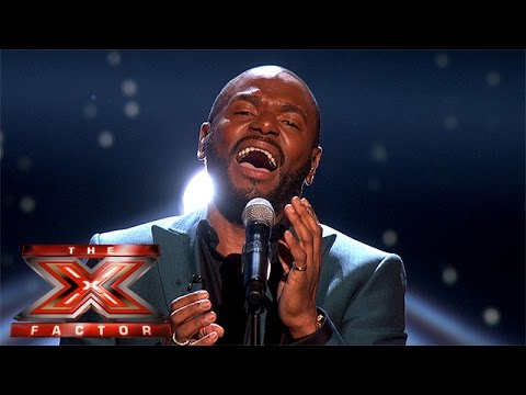 Anton Stephans takes on emotional Luther Vandross ballad | Live Week 1 | The X Factor 2015