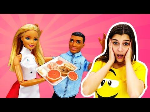 Новая работа Барби - Открываем кафе! Мультики для девочек - Ох, уж эти куклы!