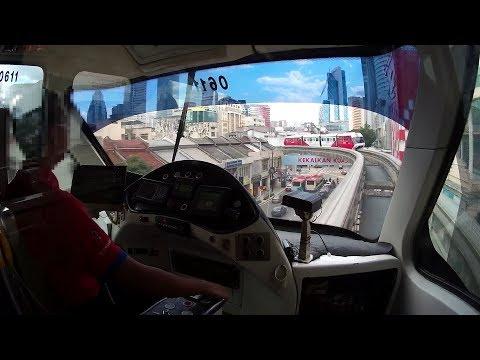 [rapidKL] Mitfahrt/ride Monorail Kuala Lumpur