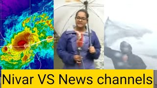 Nivar cyclone vs News reporters -public youtube comment trolls