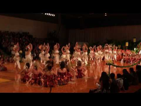 Punahou Holoku 2017 Tahitian