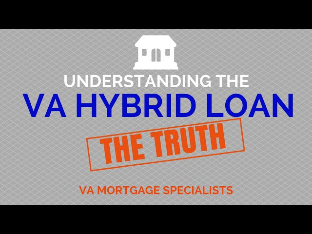 VA Hybrid Loan | 1-855-956-4040