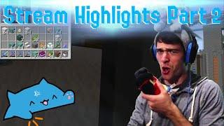 Minecraft Stream Highlights with ThatBaldGamer - Part 2