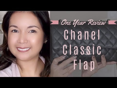 Chanel Classic Flap | One Year Review | Wear and Tear Update | LalaLovesLV