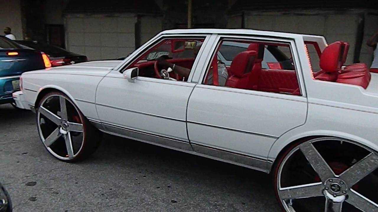 hight resolution of box chevy no roof on 30 dub ballers stunt world bbq