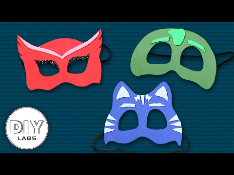 3 Amazing PJ Masks Crafts | Owlette, Catboy & Gekko | Fast-n-Easy | DIY Arts & Crafts for Parents