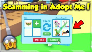 How to SCAM in Adopt Me! Scammer Secrets Exposed (Roblox)