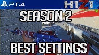 H1Z1 PS4: BEST NEW SENSITIVITY SETTINGS FOR SEASON 2! AIM LIKE A PRO! #H1Z1PS4 #H1Z1 #CJAY_YT