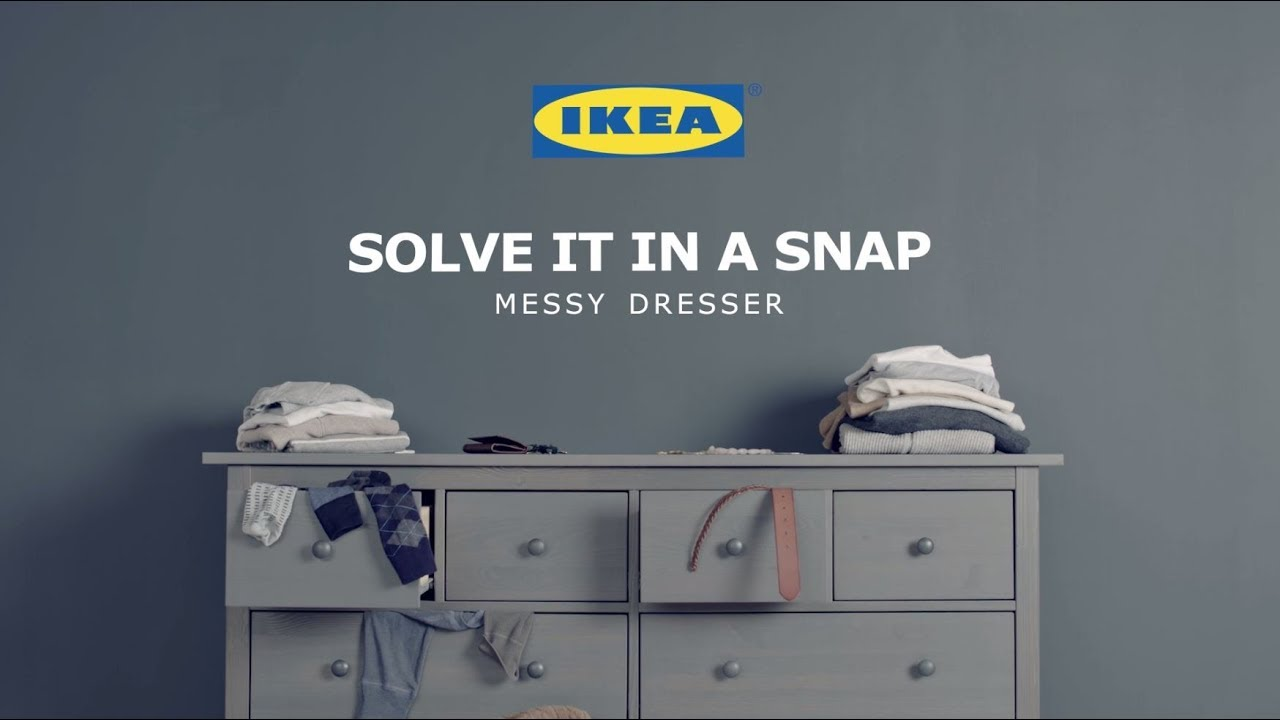 Messy Dresser Solve It In A Snap By Ikea Youtube