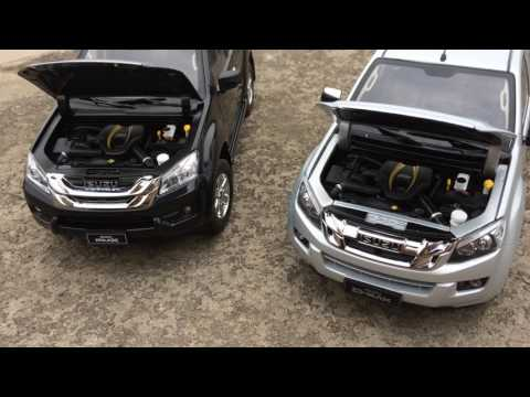 Mini ISUZU MU-X AND D-MAX Diecast cars toys