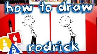 How To Draw Rodrick Heffley From Diary Of A Wimpy Kid