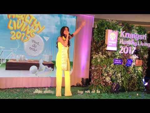 {Viet sub} Poo Sao Kaa Lor cover by Kimmy Kimberley at event Krungsi Healthy Living [18.08.17]