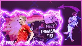 Fifa 2019 Thumbnail / miniaturka kevin de bruyne