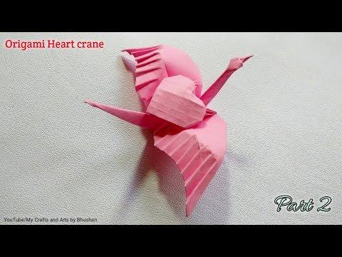 Origami Crane (Folding Instructions) - YouTube | 360x480