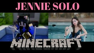 Mv Cover  Jennie Solo Versi Animasi Minecraft