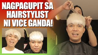 LAPTRIP GUPITAN SA HAIRSTYLIST NI VICE GANDA  FT. BUERN RODRIGUEZ