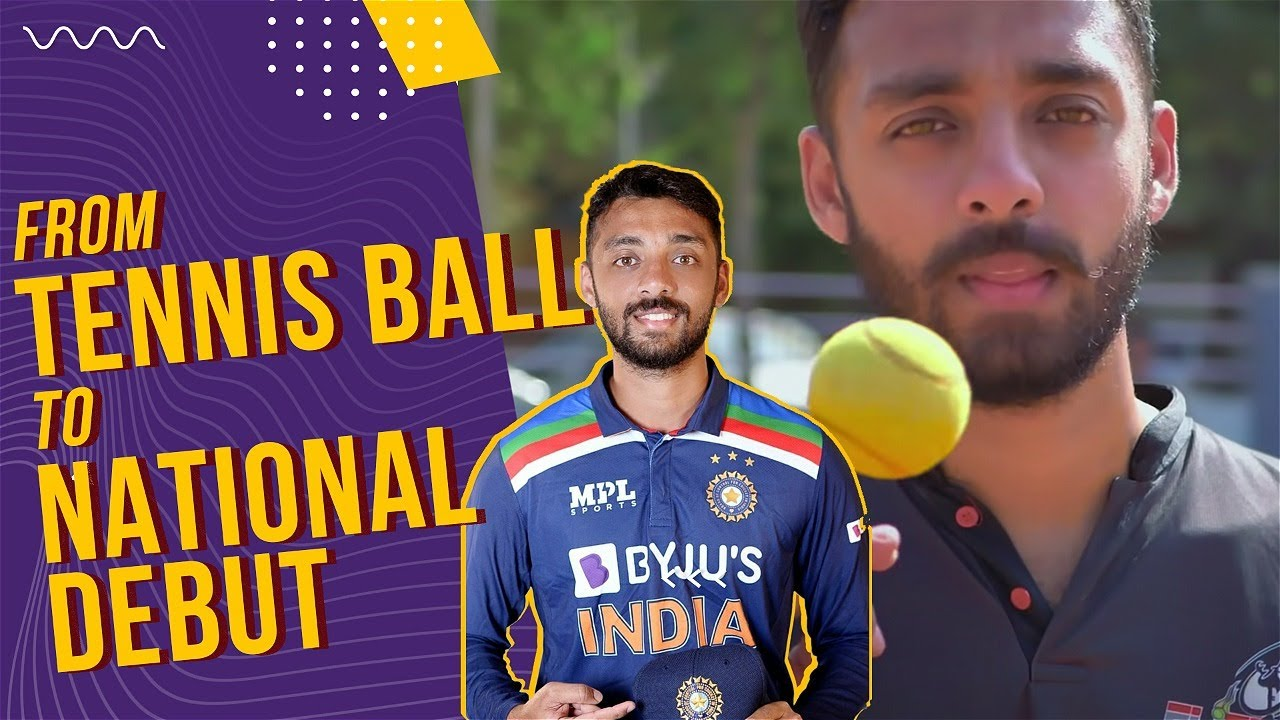 From Tennis Ball to National debut   Varun Chakaravarthy #Shorts