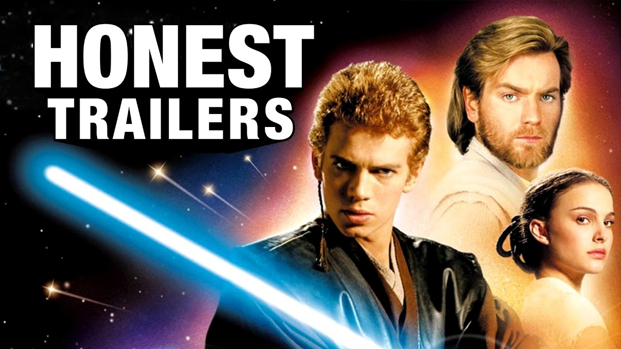 honest trailers star wars episode ii attack of the clones youtube. Black Bedroom Furniture Sets. Home Design Ideas