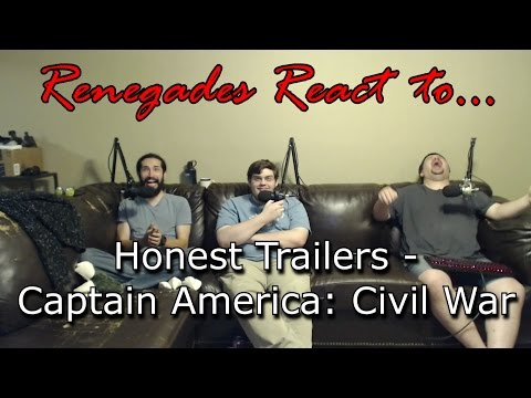 Renegades React to... Honest Trailers - Captain America: Civil War