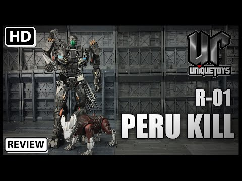 Unique Toys R-01 PERU KILL Transformers Movie Masterpiece AOE LOCKDOWN