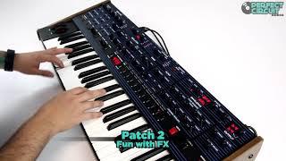 Dave Smith Instruments OB-6 Analog Synthesizer - Sound Design Demo #1