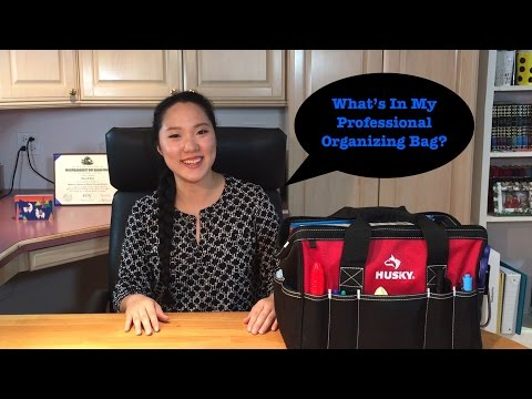 What's In My Professional Organizing Kit | DK Organizing