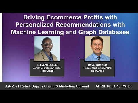 Driving Ecommerce Profits W/ Personalized Recommendations Using Machine Learning & Graphic Analytics