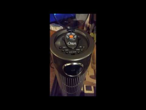 Ozeri Ultra 42 inch Wind Fan - Adjustable Oscillating Tower Fan with Noise Reduction Technology